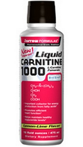 Jarrow Formulas Liquid Carnitine 1000, 16 Fluid Ounce