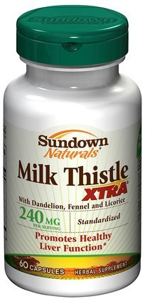 Thistle Sundown lait Naturals, Xtra, 240 mg, gélules, 60 ct.