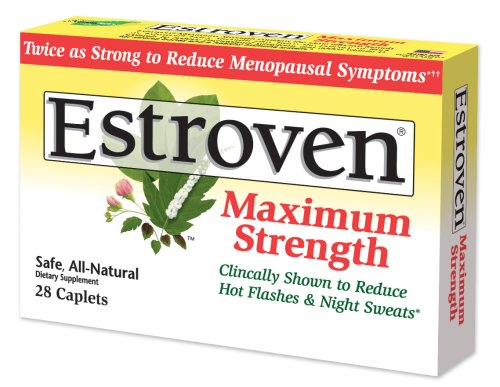 Estroven, Maximum Strength, 28-Count Box