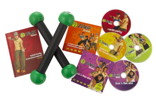 Zumba Fitness Total Transformation Body System DVD Set