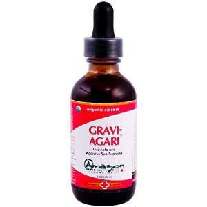 Amazon thérapeutique Laboratories Amazon Therapeutics Gravi-Agari Graviola et Agaricus Sun Supreme 2 oz (60 ml) 2 Oz