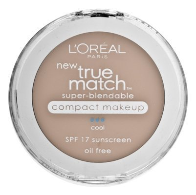 L'Oréal Paris True Match Super-Blendable Maquillage Compact, SPF 17, Classic Beige, 0,30 once