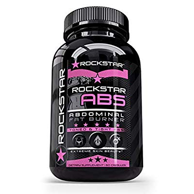 Brûle-graisses Rockstar Abs Targeted Fat Burner 60 Veggie Caps