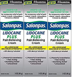 SALONPAS LIDOCAINE PLUS 90 ML