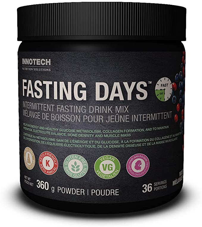 FASTING DAYS INTERMITTENT FASTING DRINK MIX  MIXED BERRY 360G